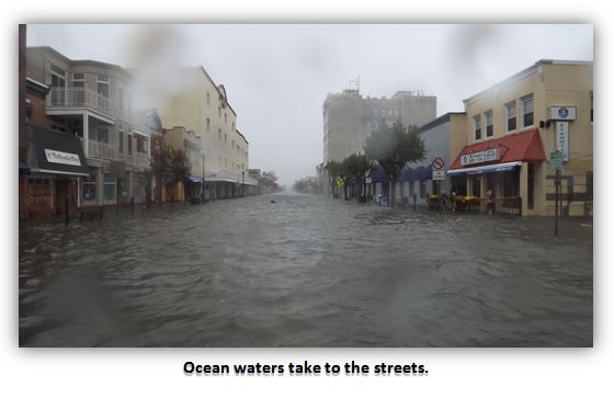 Ocean City New Jersey Weathers Hurricane Sandy