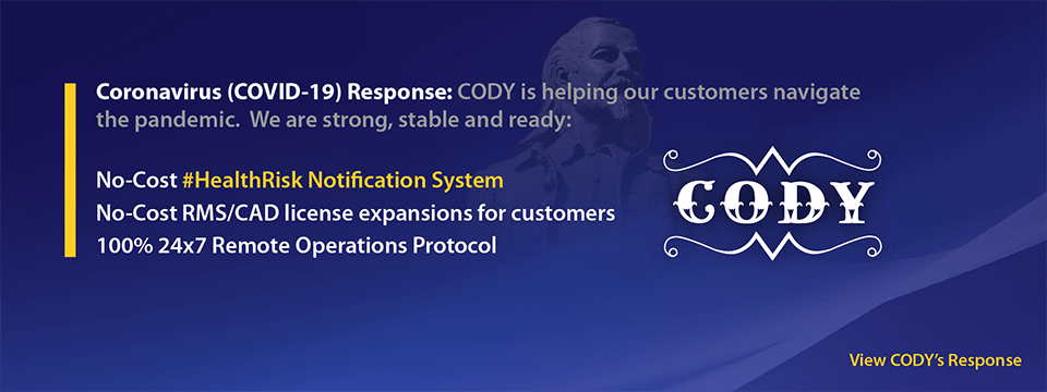 CODY Systems COVID-19 Open Letter